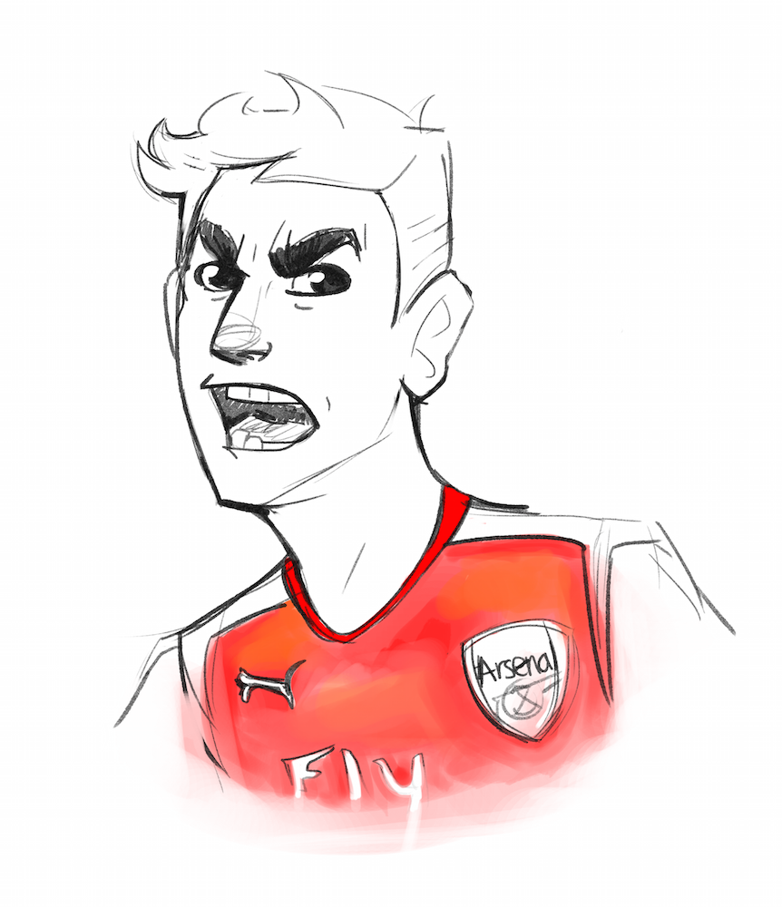 Angry Gooner: An unusual match reporter