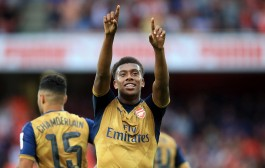 Alex Iwobi, Wilshere and Koscielny Challenge the Machine