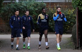 Look Who's In Training: Arsenal v Southampton