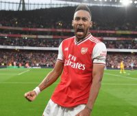 Aubameyang 19 Arsenal