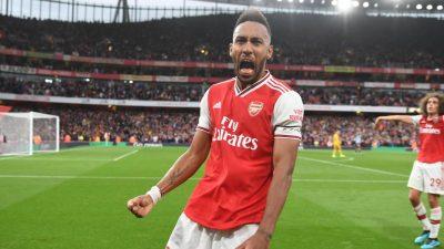 Aubameyang 19 Arsenal